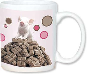 Ceramic Mug - Save the Earth, Save the Chocolate | Wild-Side Brands Ltd | 56090 | Leanin' Tree