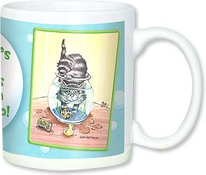 Ceramic Mug - Another mess I've gotten myself into! | Gary Patterson | 56100 | Leanin' Tree