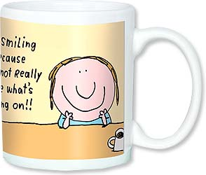Ceramic Mug - I'm not really sure what's going on... | Stan Makowski | 56102 | Leanin' Tree