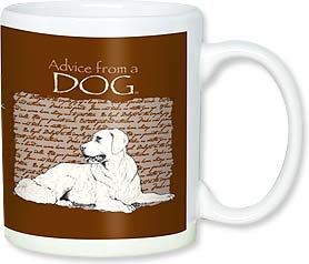 Ceramic Mug - Advice from a Dog | Your True Nature® | 56113 | Leanin' Tree