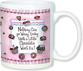 Ceramic Mug - Nothing Can go Wrong Today... | Barbara Ann Kenney | 56117 | Leanin' Tree