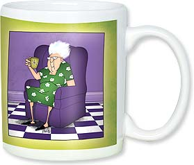 Ceramic Mug - You think this is coffee, don't you? | Leslie Moak Murray | 56119 | Leanin' Tree