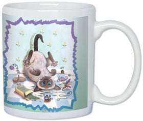Ceramic Mug - I'm ready to face reality now. | Gary Patterson | 56122 | Leanin' Tree
