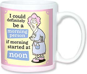 Ceramic Mug - Aunty Acid - I'm not a morning person. | Aunty Acid™ | 56138 | Leanin' Tree