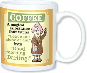 Ceramic Mug - Aunty Acid - Coffee...a magical substance | Aunty Acid™ | 56142 | Leanin' Tree