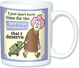 Ceramic Mug - Aunty Acid - No time for a breakdown | Aunty Acid™ | 56146 | Leanin' Tree