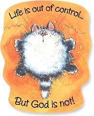 Flexible Magnet - Sale - God Is in Control  | Margaret Sherry | 57557 | Leanin' Tree