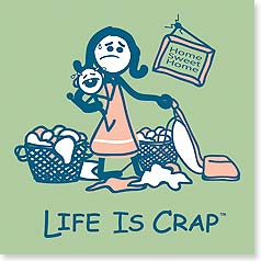 Flexible Magnet - Sale - Life is Crap - Motherhood | LIFE IS CRAP® | 57568 | Leanin' Tree
