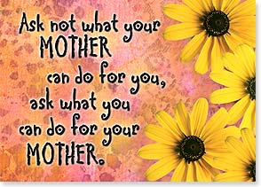 Flexible Magnet - Sale - What Can You Do for Your Mother? | Bee Sturgis | 57574 | Leanin' Tree