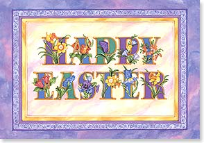 Easter Card - Wishing you an abundance of springtime blessings.  | Judy Hand | 59154 | Leanin' Tree