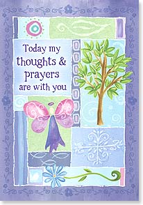 Praying For You Card - God Will See You Through: Psalm 145:18 | B J Lantz | 59183 | Leanin' Tree