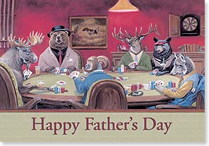 Father's Day Card - To the man who somehow keeps playing with a full deck! | Linda Picken | 59190 | Leanin' Tree