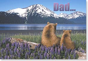 Father's Day Card - 59194 | Leanin' Tree