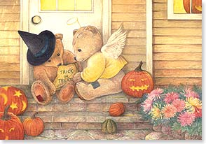 Halloween Card - Happy 'Trick or Treat' to someone sweet! | Judith Cheng | 59249 | Leanin' Tree