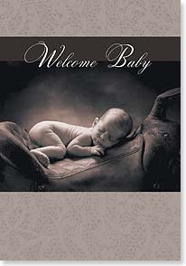Baby Congratulations Card - Welcome Baby | Thomas Meinhold | 59475 | Leanin' Tree