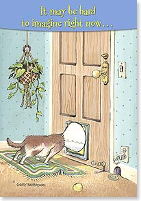 Feel Better Card - You will get through this! | Gary Patterson | 59510 | Leanin' Tree