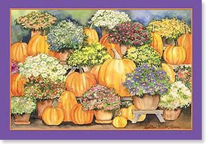 Halloween Card - Wishing you a bright and happy Halloween! | Kathleen Parr McKenna | 59625 | Leanin' Tree