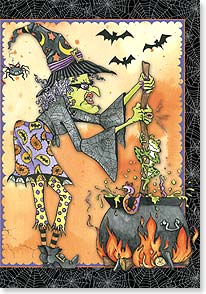Halloween Card - Toils and Troubles | Lakeside Design | 59628 | Leanin' Tree