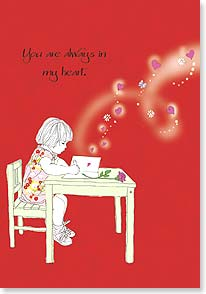 Valentine's Day Card - That's where I keep everything that is special to me. | Jayne Oliver | 59778 | Leanin' Tree