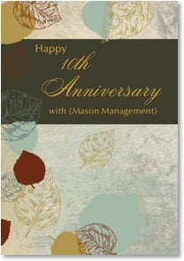 Anniversary Card - Employment - Nature's Annual | LT Studio | 5_2000286-P | Leanin' Tree