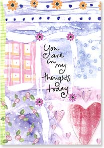 Thinking of You Card - In My Thoughts Today | Marianne Richmond | 60341 | Leanin' Tree