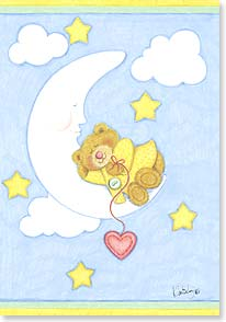 Baby Congratulations Card - A Gift Sent From Above | Kimberly Montgomery | 60358 | Leanin' Tree
