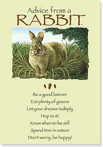 Birthday Card - Older?  Maybe just a hare! | Your True Nature® | 60395 | Leanin' Tree