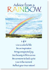 Encouragement & Support Card - It may be stormy now, but your rainbow is coming. | Your True Nature® | 60398 | Leanin' Tree