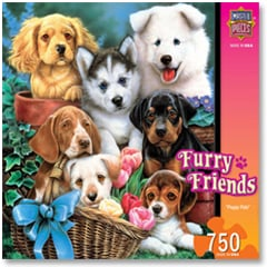 Puzzle - Playful Pals - 611204 | Leanin' Tree