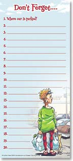 Magnetic List Pad - 61568 | Leanin' Tree