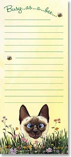 Magnetic List Pad - Busy As A Bee | Gary Patterson | 61570 | Leanin' Tree