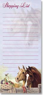 Magnetic List Pad - Shopping List | Joy Campbell | 61574 | Leanin' Tree