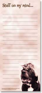 Magnetic List Pad - Stuff On My MInd | Rachael Hale® | 61597 | Leanin' Tree