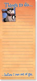 Magnetic List Pad - Before I run out of gas! | Ray Peabody | 61621 | Leanin' Tree
