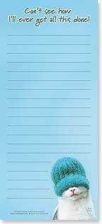 Magnetic List Pad - Can't See How | Rachael Hale® | 61633 | Leanin' Tree