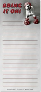 Magnetic List Pad - Bring it on! - 61669 | Leanin' Tree