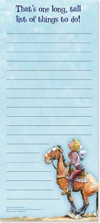 Magnetic List Pad - That's a long, tall list! - 61670 | Leanin' Tree