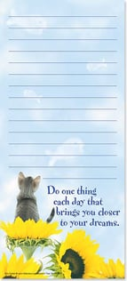 Magnetic List Pad - Do one thing each day... | Kim Crisler | 61689 | Leanin' Tree