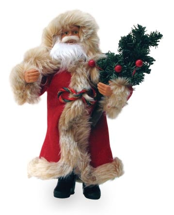 Christmas Tree Ornament - Old-Fashioned Santa Figurine - 62056 | Leanin' Tree