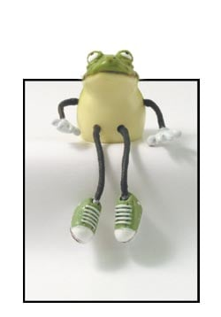 Critter Sitter - Sale - Freddy the Frog Critter Sitter - 62257 | Leanin' Tree