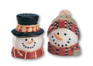 Salt & Pepper Shaker - Sale - Heads of Snow - Salt & Pepper Shakers - 62306 | Leanin' Tree