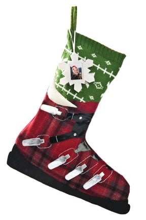 Christmas Gift Stockings - Ski Boot Christmas Stocking - 62384 | Leanin' Tree