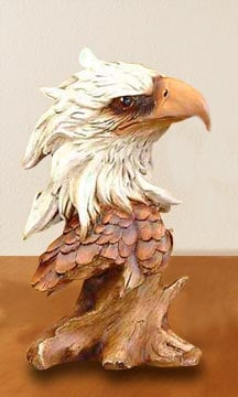 Sculpture - Eagle Wildlife Sculpture - 62416 | Leanin' Tree