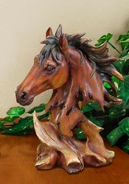 Sculpture - Horse Wildlife Sculpture - 62417 | Leanin' Tree