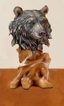 Sculpture - Bear Wildlife Sculpture - 62419 | Leanin' Tree