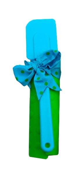 Kitchen Essentials - Spatula & Trivet Gift Set - Blue/Green - 62641 | Leanin' Tree