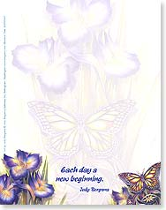 Note Pad - Each Day A New Beginning | Jody Bergsma | 63047 | Leanin' Tree