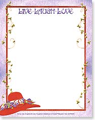 Note Pad - Red Hat | Live Laugh Love - 63061 | Leanin' Tree