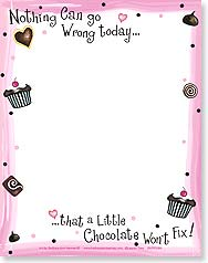 Note Pad - Nothing Can Go Wrong today | Barbara Ann Kenney | 63086 | Leanin' Tree