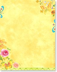 Note Pad - Bright Floral Delights | Sue Zipkin | 63091 | Leanin' Tree